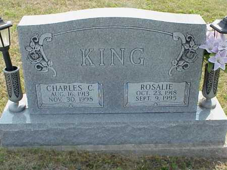 KING, CHARLES C. - Meigs County, Ohio | CHARLES C. KING - Ohio Gravestone Photos