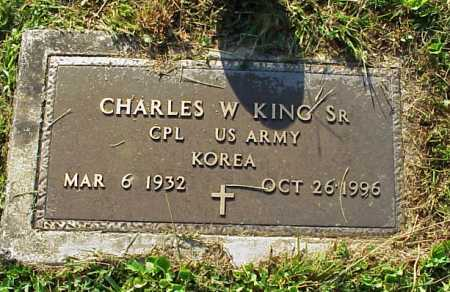 KING, CHARLES WILLIAM SR. - MILITARY - Meigs County, Ohio | CHARLES WILLIAM SR. - MILITARY KING - Ohio Gravestone Photos