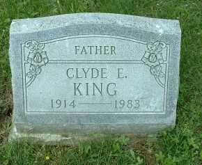 KING, CLYDE - Meigs County, Ohio | CLYDE KING - Ohio Gravestone Photos