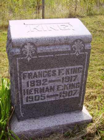 KING, HERMAN E. - Meigs County, Ohio | HERMAN E. KING - Ohio Gravestone Photos