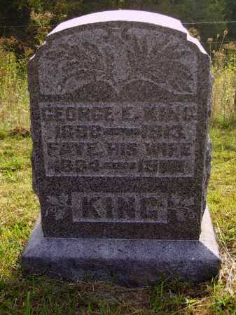 KING, GEORGE E. - Meigs County, Ohio | GEORGE E. KING - Ohio Gravestone Photos