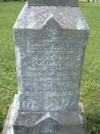 KING, HANNAH M. - Meigs County, Ohio   HANNAH M. KING - Ohio Gravestone Photos