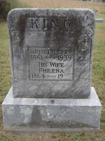 KING, JOSEPH LEE - Meigs County, Ohio | JOSEPH LEE KING - Ohio Gravestone Photos