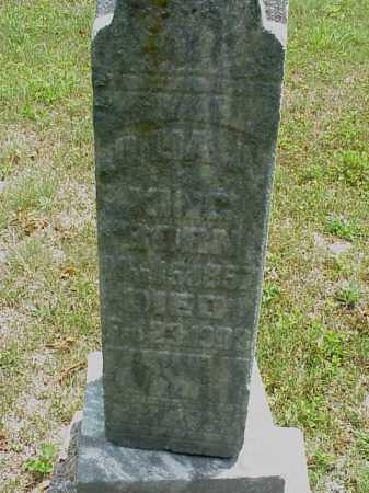 KING, JULIA A. - Meigs County, Ohio   JULIA A. KING - Ohio Gravestone Photos