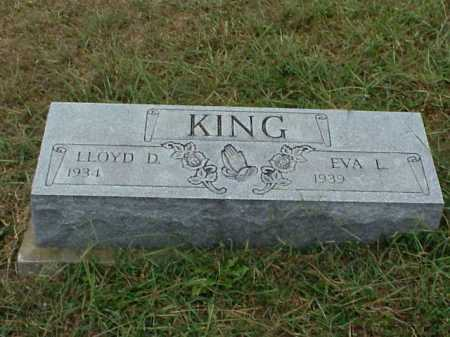 KING, EVA L. - Meigs County, Ohio | EVA L. KING - Ohio Gravestone Photos