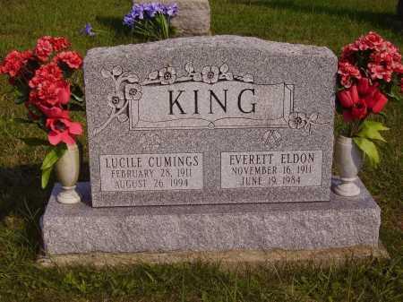 KING, EVERETT ELDON - Meigs County, Ohio | EVERETT ELDON KING - Ohio Gravestone Photos