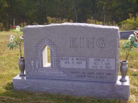 KING, MARY D. - Meigs County, Ohio | MARY D. KING - Ohio Gravestone Photos