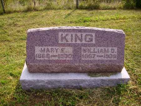 KING, WM. D. - Meigs County, Ohio | WM. D. KING - Ohio Gravestone Photos