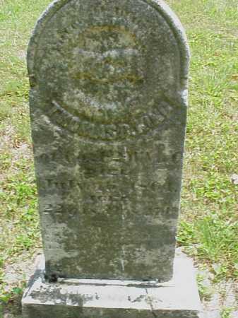 KING, THOMAS B. - Meigs County, Ohio   THOMAS B. KING - Ohio Gravestone Photos