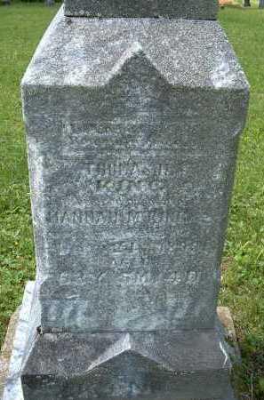 KING, THOMAS - Meigs County, Ohio | THOMAS KING - Ohio Gravestone Photos