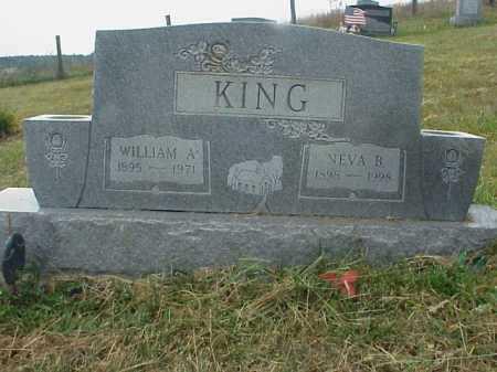 KING, WILLIAM A. - Meigs County, Ohio | WILLIAM A. KING - Ohio Gravestone Photos