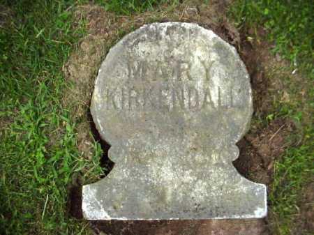 KIRKENDALL, MARY - Meigs County, Ohio | MARY KIRKENDALL - Ohio Gravestone Photos