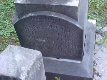 KLEIN, ANNA MARIA - Meigs County, Ohio   ANNA MARIA KLEIN - Ohio Gravestone Photos