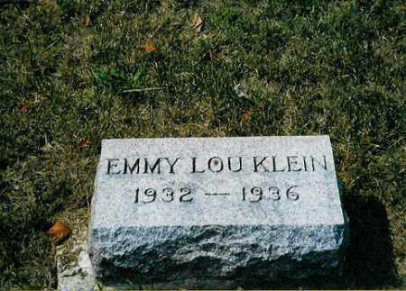 KLEIN, EMMY LOU - Meigs County, Ohio | EMMY LOU KLEIN - Ohio Gravestone Photos