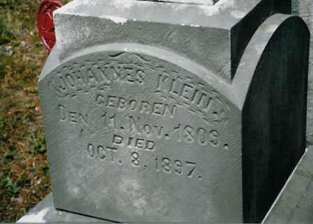 KLEIN, JOHANNES - Meigs County, Ohio | JOHANNES KLEIN - Ohio Gravestone Photos