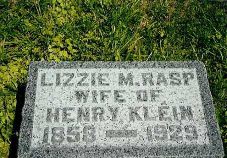 KLEIN, LIZZIE M. - Meigs County, Ohio | LIZZIE M. KLEIN - Ohio Gravestone Photos