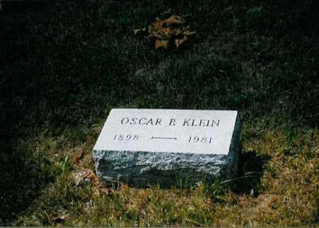 KLEIN, OSCAR P. - Meigs County, Ohio | OSCAR P. KLEIN - Ohio Gravestone Photos