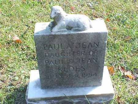 KLOES, PAULA JEAN - Meigs County, Ohio | PAULA JEAN KLOES - Ohio Gravestone Photos