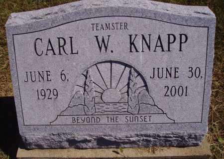 KNAPP, CARL W. - Meigs County, Ohio   CARL W. KNAPP - Ohio Gravestone Photos