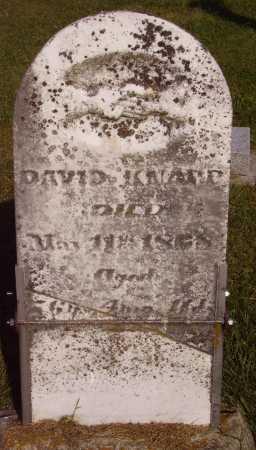 KNAPP, DAVID - Meigs County, Ohio | DAVID KNAPP - Ohio Gravestone Photos