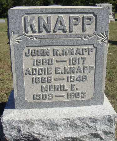 KNAPP, JOHN R. - Meigs County, Ohio | JOHN R. KNAPP - Ohio Gravestone Photos