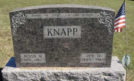 KNAPP, ROY HENRY - Meigs County, Ohio | ROY HENRY KNAPP - Ohio Gravestone Photos