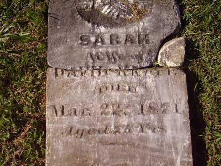 WOOD KNAPP, SARAH - Meigs County, Ohio   SARAH WOOD KNAPP - Ohio Gravestone Photos
