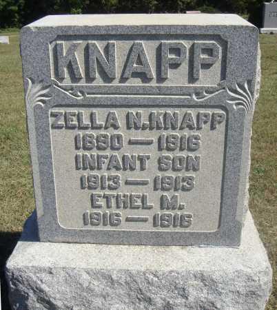 KNAPP, ZELLA - Meigs County, Ohio | ZELLA KNAPP - Ohio Gravestone Photos