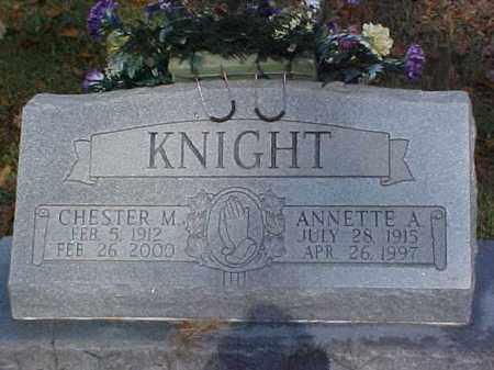 KNIGHT, ANNETTE A. - Meigs County, Ohio | ANNETTE A. KNIGHT - Ohio Gravestone Photos