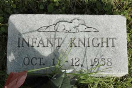 KNIGHT, INFANT - Meigs County, Ohio   INFANT KNIGHT - Ohio Gravestone Photos