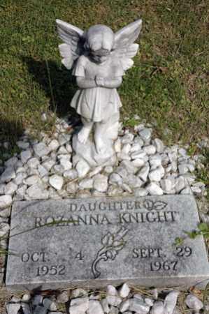 KNIGHT, ROZANNA - Meigs County, Ohio   ROZANNA KNIGHT - Ohio Gravestone Photos