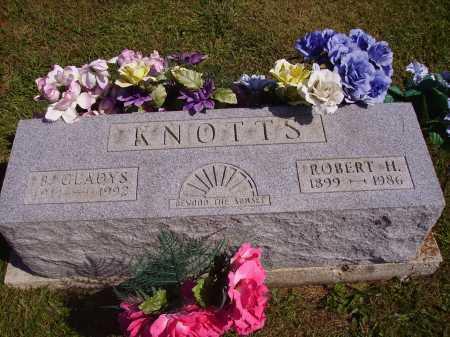 KNOTTS, ROBERT H. - Meigs County, Ohio | ROBERT H. KNOTTS - Ohio Gravestone Photos