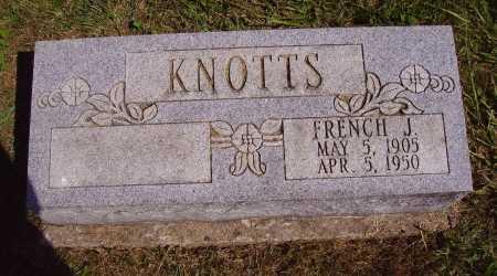 KNOTTS, FRENCH J. - Meigs County, Ohio | FRENCH J. KNOTTS - Ohio Gravestone Photos