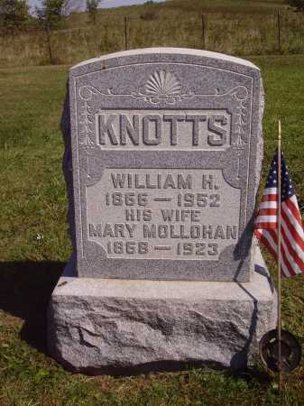 KNOTTS, WILLIAM H. - Meigs County, Ohio | WILLIAM H. KNOTTS - Ohio Gravestone Photos