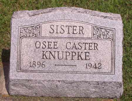 CASTER KNUPPKE, OSEE - Meigs County, Ohio | OSEE CASTER KNUPPKE - Ohio Gravestone Photos
