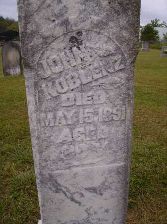 KOBLENZ, JOHN - Meigs County, Ohio | JOHN KOBLENZ - Ohio Gravestone Photos