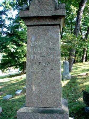 KOEHLER, EMMA M. - Meigs County, Ohio | EMMA M. KOEHLER - Ohio Gravestone Photos