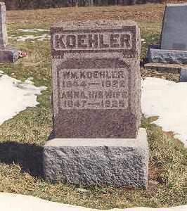 KOEHLER, ANNA - Meigs County, Ohio | ANNA KOEHLER - Ohio Gravestone Photos