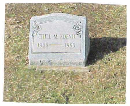 KOENIG KOENIG, ETHEL - Meigs County, Ohio | ETHEL KOENIG KOENIG - Ohio Gravestone Photos