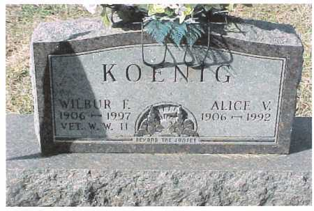 HATCH KOENIG, ALICE - Meigs County, Ohio | ALICE HATCH KOENIG - Ohio Gravestone Photos