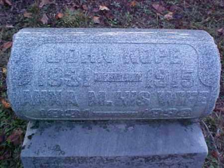 KOPE, ANNA M. - Meigs County, Ohio   ANNA M. KOPE - Ohio Gravestone Photos