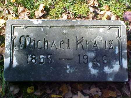 KRAUS, MICHAEL - Meigs County, Ohio | MICHAEL KRAUS - Ohio Gravestone Photos
