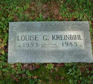 KREINBIHL, LOUISE G. - Meigs County, Ohio | LOUISE G. KREINBIHL - Ohio Gravestone Photos