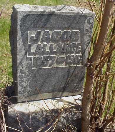 LALLANCE, JACOB - Meigs County, Ohio   JACOB LALLANCE - Ohio Gravestone Photos