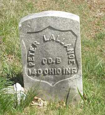 LALLANCE, PETER - Meigs County, Ohio | PETER LALLANCE - Ohio Gravestone Photos