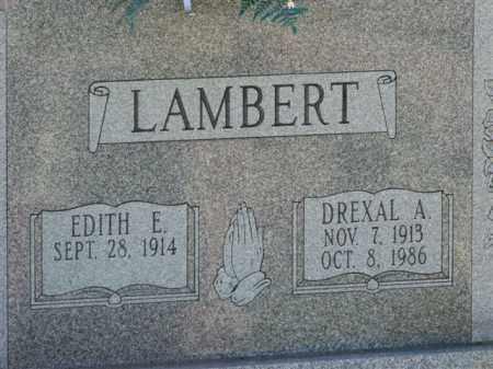 LAMBERT, EDITH E. - Meigs County, Ohio | EDITH E. LAMBERT - Ohio Gravestone Photos