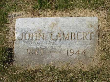LAMBERT, JOHN - Meigs County, Ohio | JOHN LAMBERT - Ohio Gravestone Photos