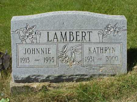 LAMBERT, JOHNNIE - Meigs County, Ohio | JOHNNIE LAMBERT - Ohio Gravestone Photos