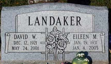 LANDAKER, EILEEN M. - Meigs County, Ohio | EILEEN M. LANDAKER - Ohio Gravestone Photos