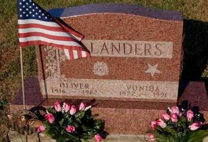 LANDERS, VONIDA - Meigs County, Ohio | VONIDA LANDERS - Ohio Gravestone Photos